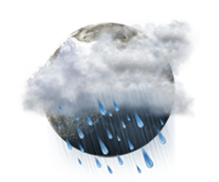 Predominant  înnourat cu precipitaţii